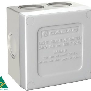 CABAC SUNSET SWITCH WEATHERPROOF 16A IP66 HSC110SS
