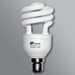 20w B22 CFL GLOBE BAYONET 6400k